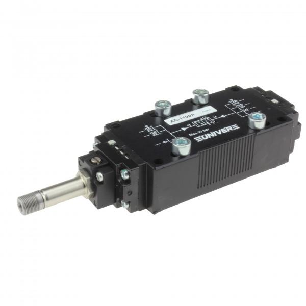 Univer AE-1100A 5/2-Wege Magnetventil für ISO2 Grundplattenmontage