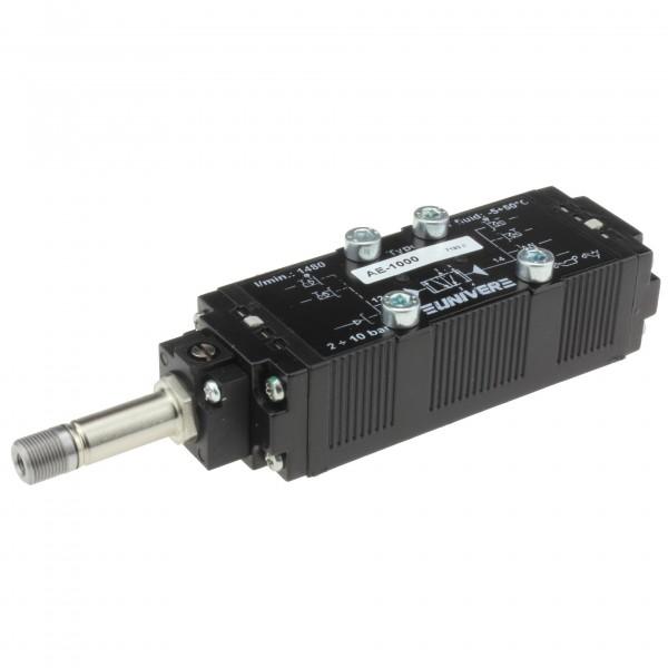 Univer AE-1000 5/2-Wege Magnetventil für ISO1 Grundplatten