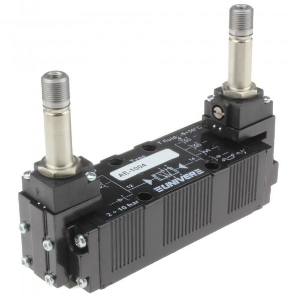 Univer AE-1004 5/2-Wege Magnetventil für Grundplattenmontage