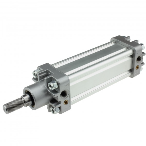 Univer Pneumatikzylinder Serie K ISO 15552 mit 50mm Kolben und 550mm Hub
