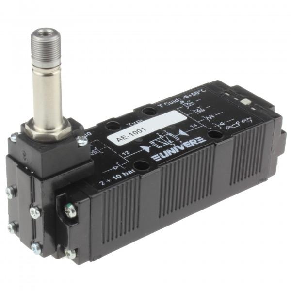 Univer AE-1001 5/2-Wege Magnetventil für ISO1 Grundplatten