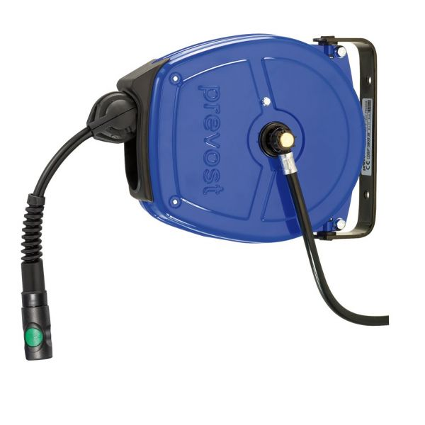 Schlauchaufroller mit PU-Schlauch 8x11 - schwenkbar 180° - G3/8 IG - DSF0805ES