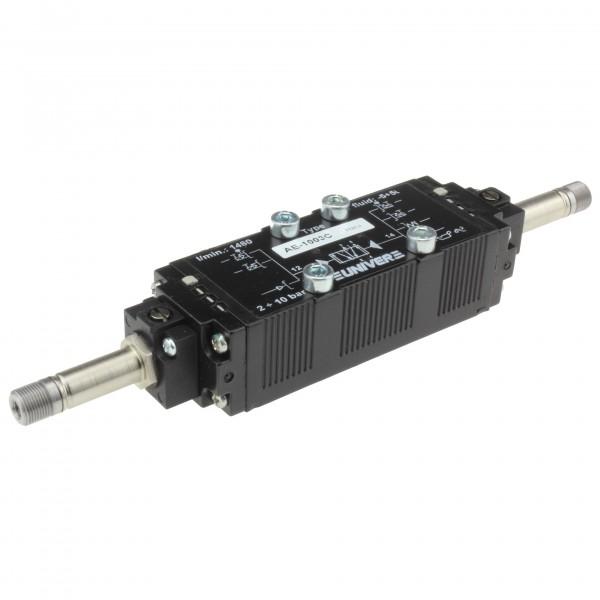 Univer AE-1003C 5/2-Wege Magnetventil für Grundplattenmontage