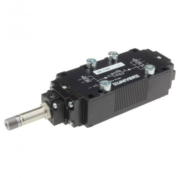 Univer AE-1100 5/2-Wege Magnetventil für ISO2 Grundplattenmontage