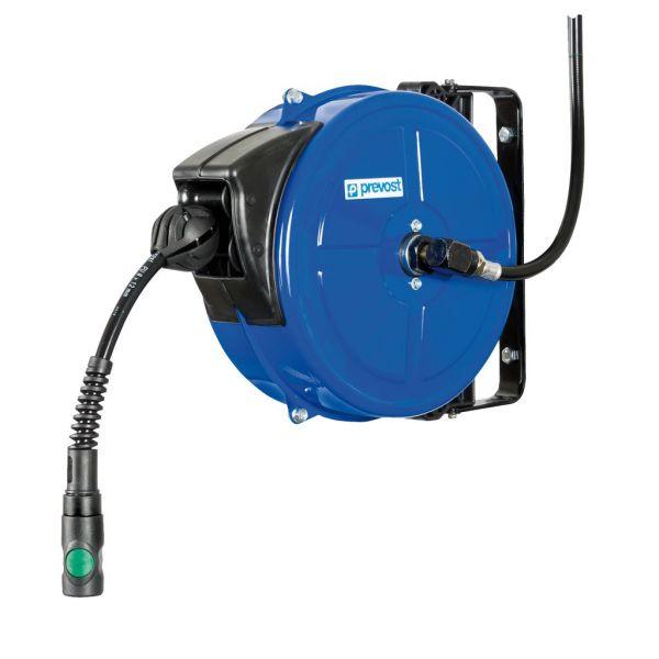 Schlauchaufroller - schwenkbar - G3/8 IG - 10m PU-Schlauch - DMF0810ES